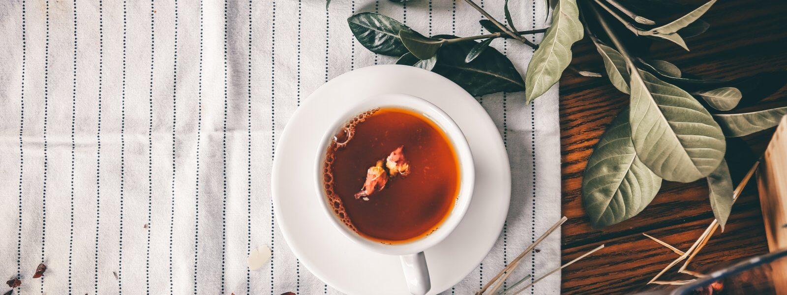 Teneur en caféine : Une tasse de thé contient plus de caféine qu'un expresso