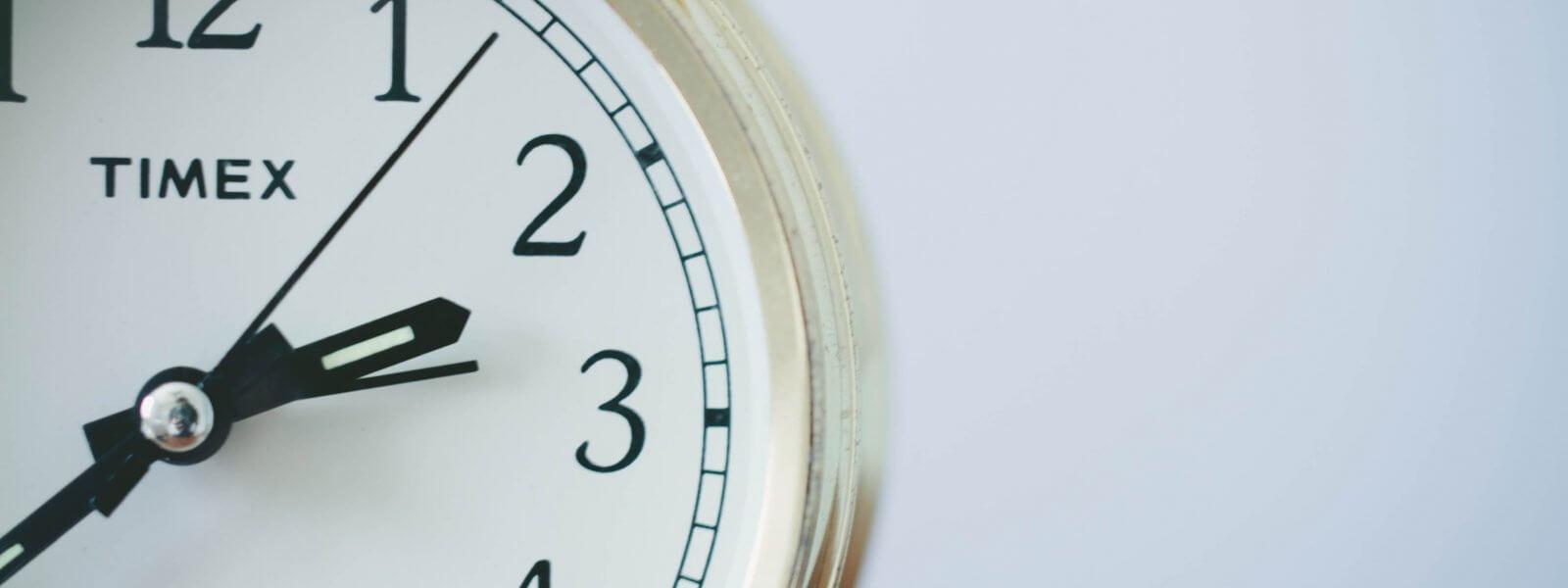 Horloge interne : le donneur de temps de notre organisme